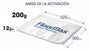 sacos anti inundaciones Floodsax
