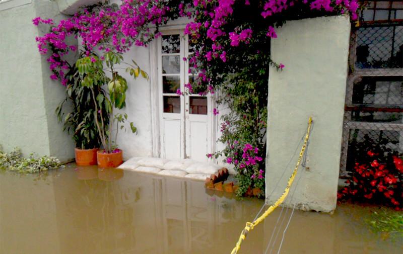 Controlar inundación