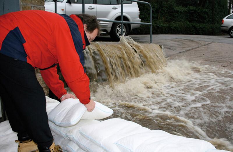 Prepararse inundación